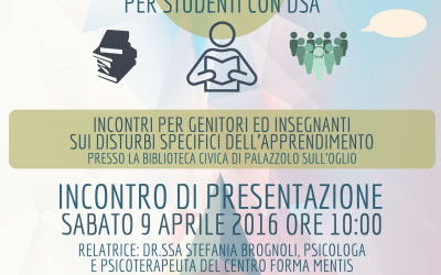 """""""Dal testo alla mappa"""" strumenti compensativi per studenti con DSA."""